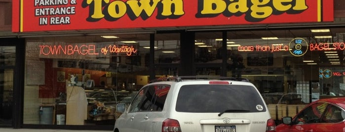 Town Bagel is one of been here.