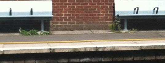 Eltham Railway Station (ELW) is one of Train stations.