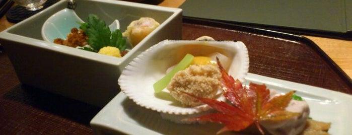 分とく山 is one of Michelin Guide Tokyo (ミシュラン東京) 2012 [***&**].