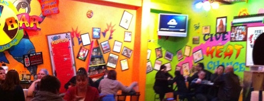 Tijuana Flats is one of Creative Innovations Cause Related Advertising.