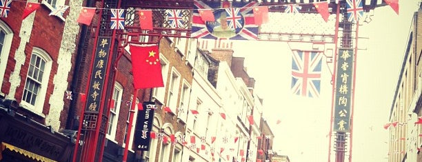 Chinatown is one of Summer in London/été à Londres.