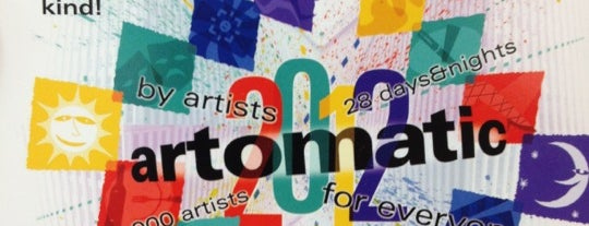Artomatic is one of District of Art.