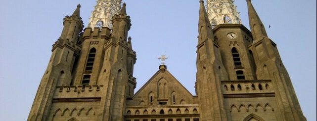 Gereja Katolik Katedral Jakarta is one of Must Visit Places in Jakarta ( Indonesia ).