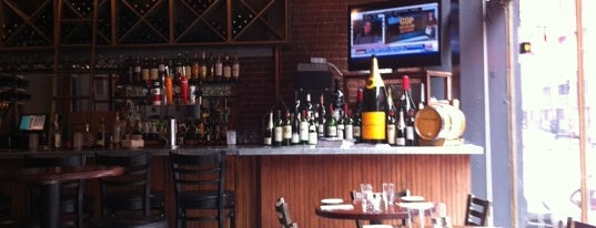 Les Zygomates Wine Bar Bistro is one of 40 Days Left in Boston.