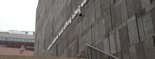 Mumok - Museum Moderner Kunst Stiftung Ludwig Wien is one of Exploring Vienna (Wien).