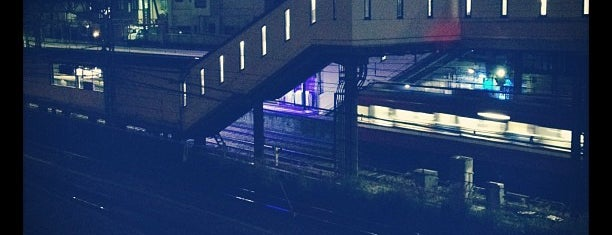 神奈川駅 (Kanagawa Sta.) (KK36) is one of 京急本線(Keikyū Main Line).