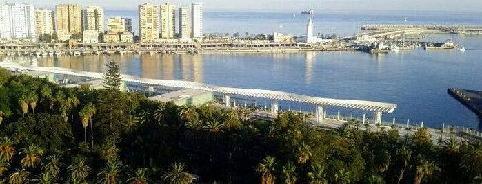 Terraza AC Hotel Málaga Palacio is one of 101 cosas que ver en Málaga antes de morir.