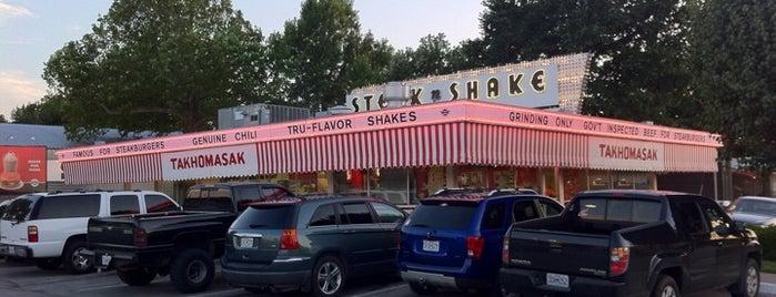 Steak 'n Shake is one of Food.