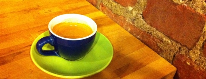 Bloc 11 Cafe is one of The best espresso in Boston.