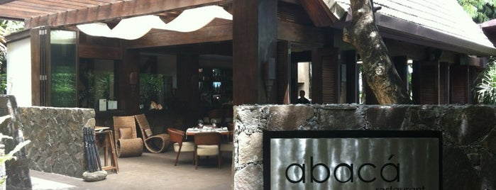 Abaca Boutique Resort + Restaurant is one of FOODS ♥.
