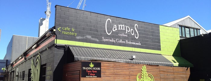 Campos Coffee is one of Best Cafes in Brisbane.