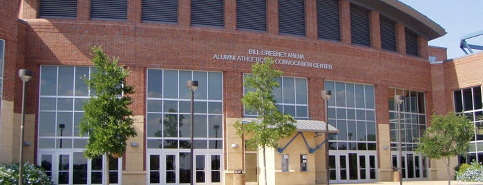 Bill Greehey Arena is one of Campus tour.