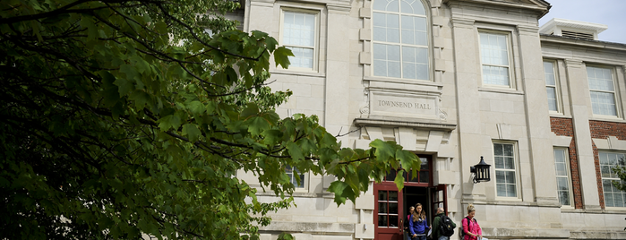 Townsend Hall is one of MU History Tour.