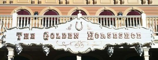 The Golden Horseshoe is one of Disneyland Fun!!!.