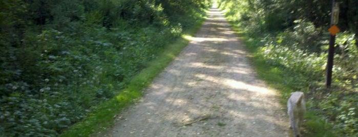 Military Ridge State Trail is one of Fresh Air Around Madison, WI.