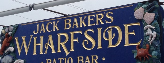 Jack Baker's Wharfside Restaurant is one of Restaurant's I like.....