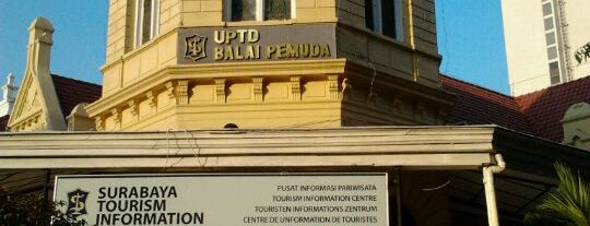 Balai Pemuda is one of Sparkling Surabaya.