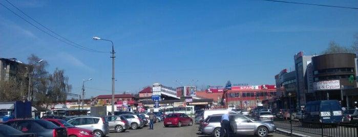 Станция «Лобня» is one of Лобня.