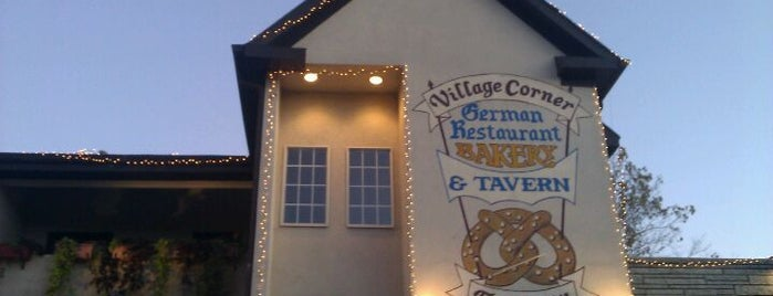 Village Corner German Restaurant & Tavern is one of places.