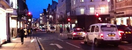 New Bond Street is one of My United Kingdom Trip'09.
