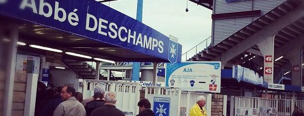 Stade de L'Abbé-Deschamps is one of Stadiums.