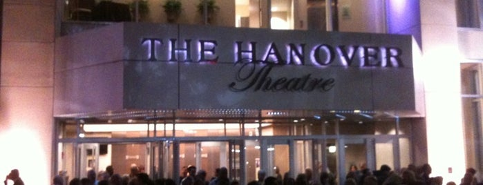 The Hanover Theatre for the Performing Arts is one of WOOCard Venues.