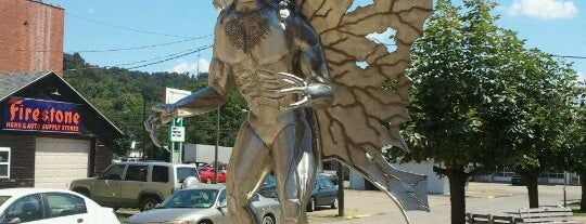 Mothman Statue is one of Gary's List.