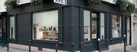A.P.C. is one of Gia Coppola's Favorite Shops in LA.