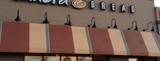 Panera Bread is one of faves.