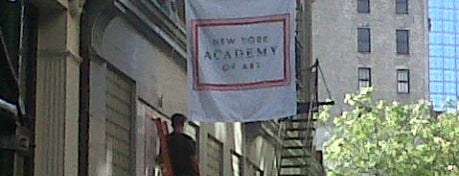New York Academy of Art is one of Tribeca Film Festival #TFF2012.