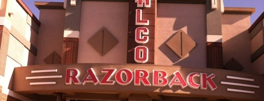 Malco Razorback Cinema is one of Restaurants in Fayetteville.