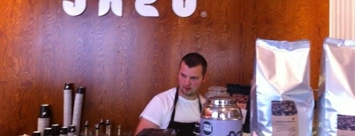Jacu Kaffebar is one of Coffee to drink in CNW Europe.
