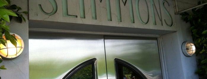 Slimmons Studio  (Richard Simmons Studio) is one of WERK Out.