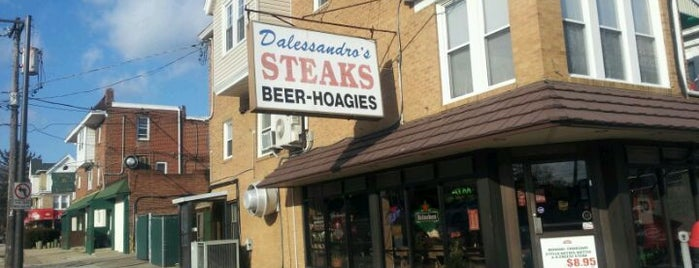 Dalessandro's Steaks and Hoagies is one of Philadelphia.