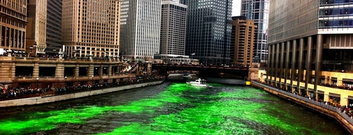 Dyeing of the Chicago River is one of Must See Chi List.