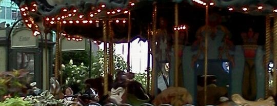 Le Carrousel in Bryant Park is one of A Guide To NYC's Carousels.