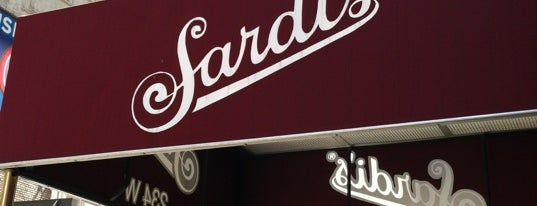 Sardi's is one of Must.