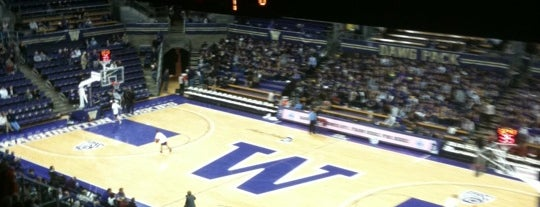 Alaska Airlines Arena is one of Basketball Arenas of the Pac-12.