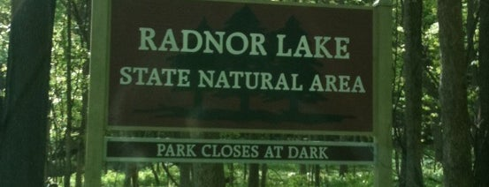 Radnor Lake State Park is one of Nashville.