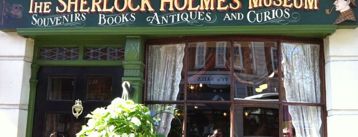 The Sherlock Holmes Museum is one of Places to visit.