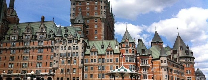Fairmont Le Château Frontenac is one of Top 10 Hotels in Quebec City (ranked by guests).