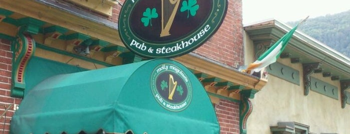 Molly Maguires Pub & Steakhouse is one of Breweries and Brewpubs.