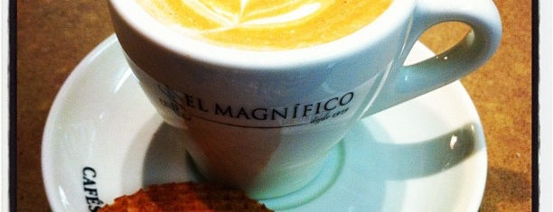 Cafés El Magnífico is one of Caffeine Fix.