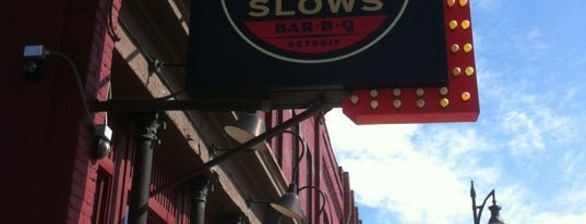 Slows Bar-B-Q is one of Man v Food Nation.