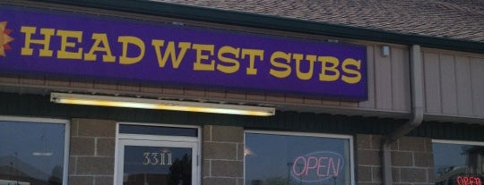 Head West Sub Stop is one of Springfield, Springfield!!.