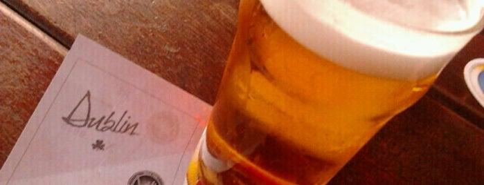 Dublin Irish Pub is one of Favorite food/drink places in Porto Alegre, Brasil.
