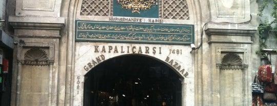 Kapalıçarşı | Grand Bazaar is one of Denemeden geçmeyin! ;).
