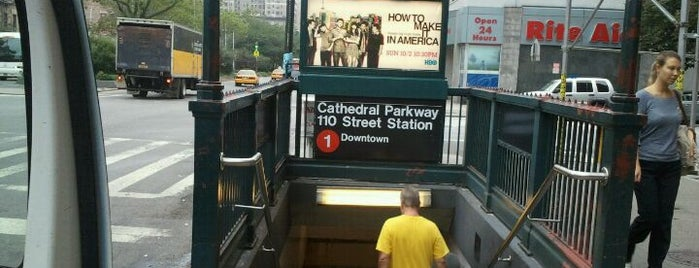 "MTA Subway - Cathedral Pkwy/110th St (1) is one of ""Be Robin Hood #121212 Concert"" @ New York!."