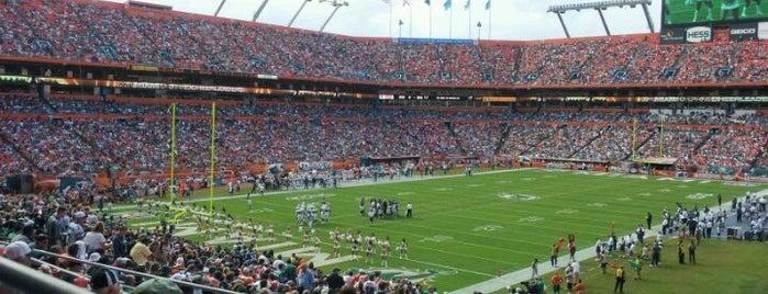 Sun Life Stadium is one of Stadiums.