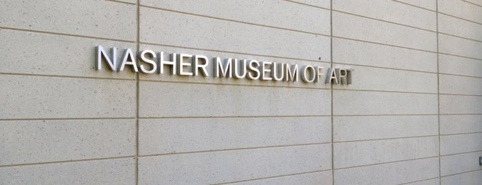 Nasher Museum of Art is one of Science, Art & History.